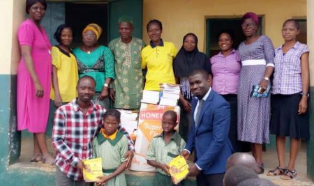 Prof. Adebayo Empowers Students In Oyo and Ogun States